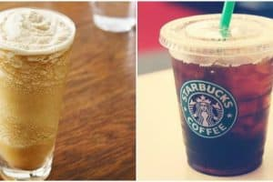 low calorie starbuck drinks