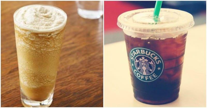 low calorie starbuck drinks