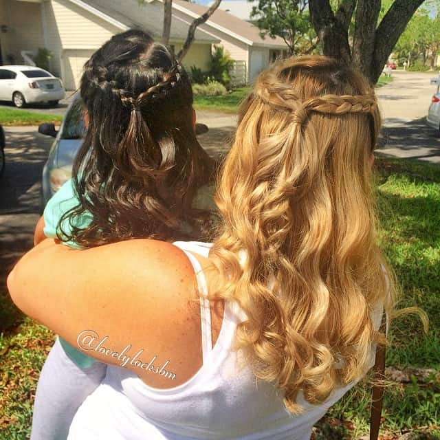 24 Precious Mother-Daughter Matching Hairstyles
