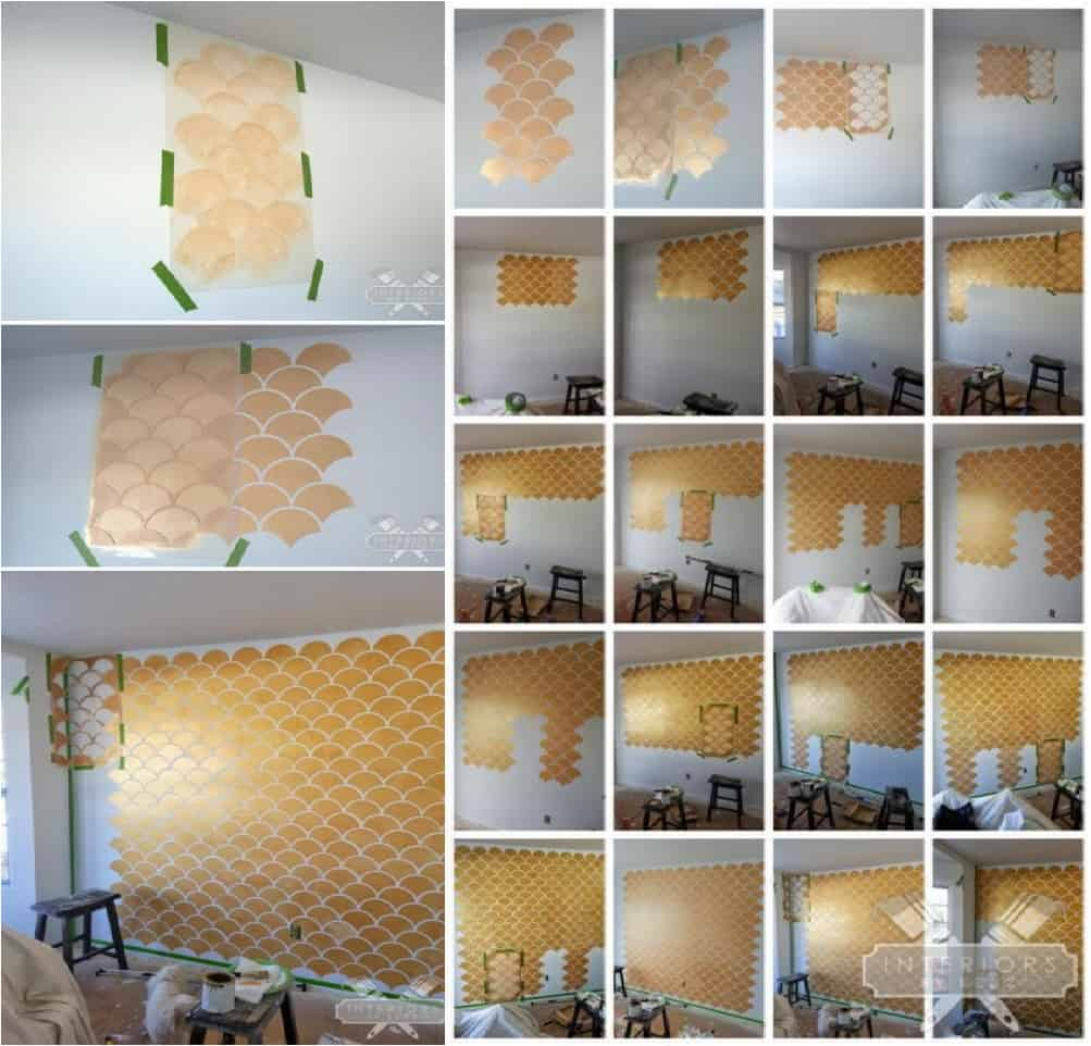 26 diy accent walls to jazz up the room ritely