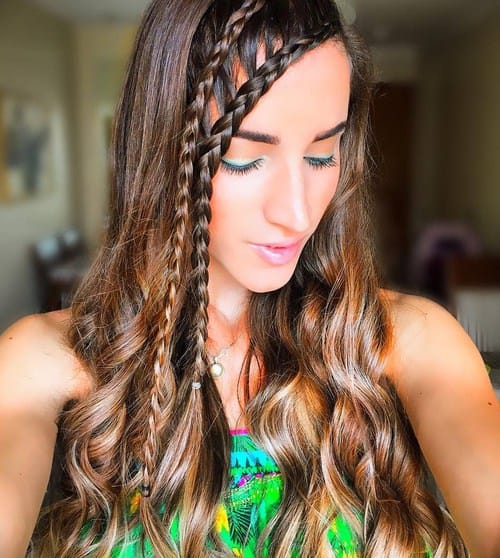 27 Braided Bang Hairstyles For An Effortless Fancy Look