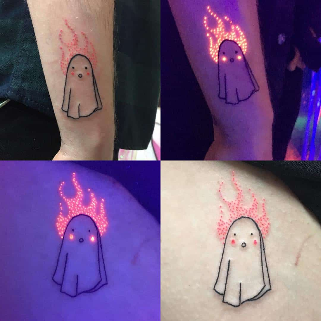 "24 Halloween Tattoos To Make You Go ""Awww"""