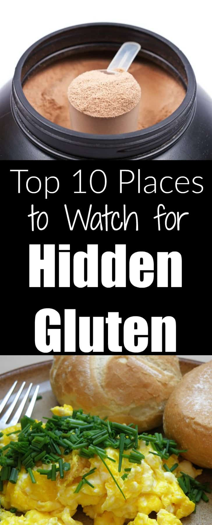 Top 10 Places to Watch for Hidden Gluten