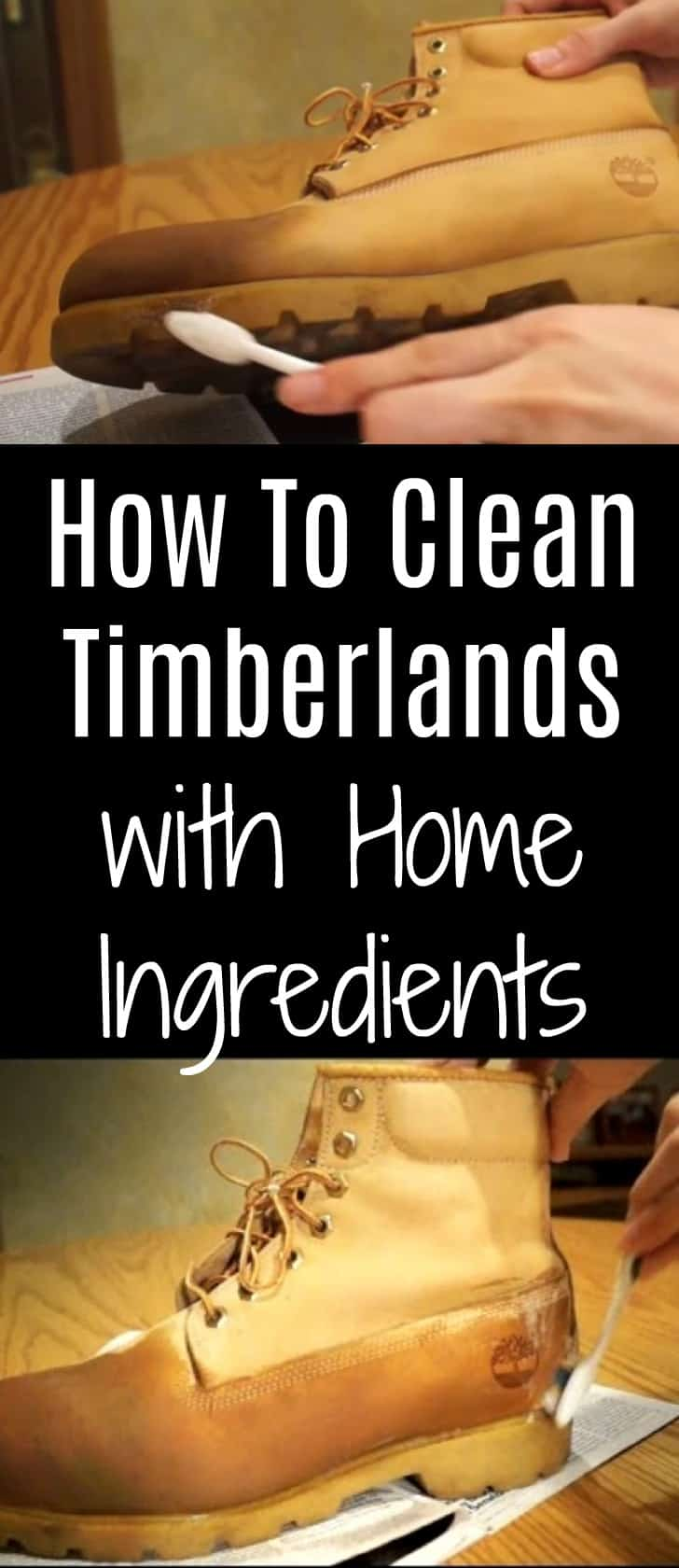 How To Clean Timberlands With Home Ingredients