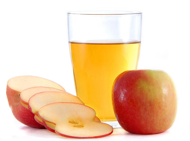 apple cider vinegar skin
