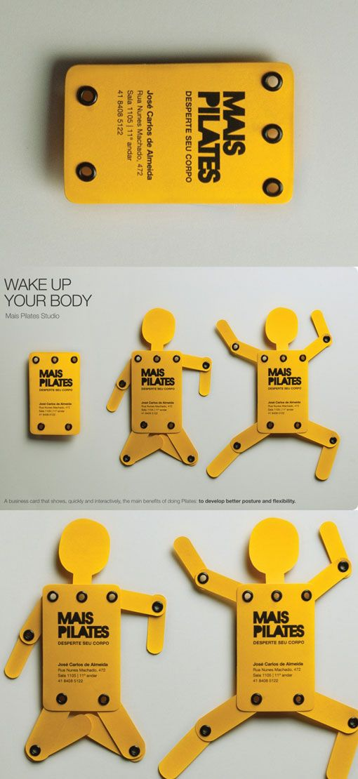 20 Creative Business Cards that Will get you an Interview