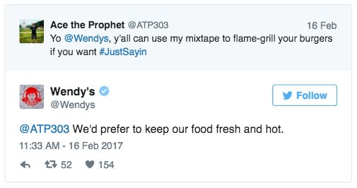 Top 22 Hilarious Roasts by Wendy's Twitter