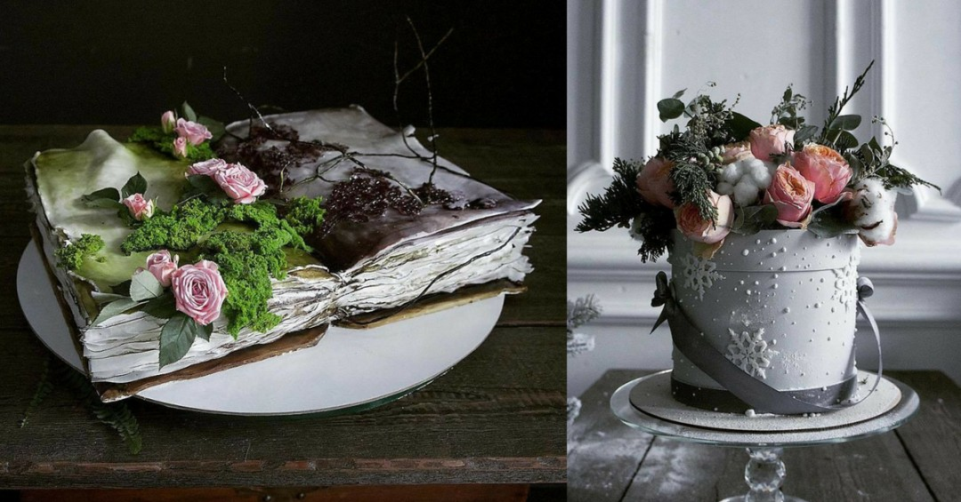 22+ Most Beautiful Cakes You Won't Believe are Edible