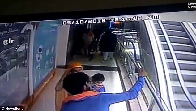 Heart-Breaking Video: Mom Drops 10-Month-Old Baby To Death In An Escalator While About To Take A Selfie