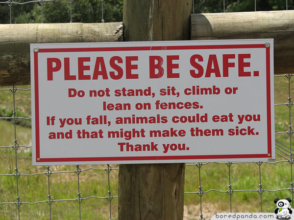 These 50 Signs are So Hilarious You Will Want to Follow Them