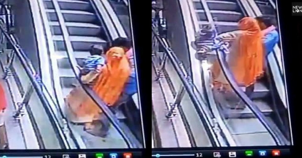Heart-Breaking Video_ Mom Drops 10-Month-Old Baby To Death In An Escalator While About To Take A Selfie
