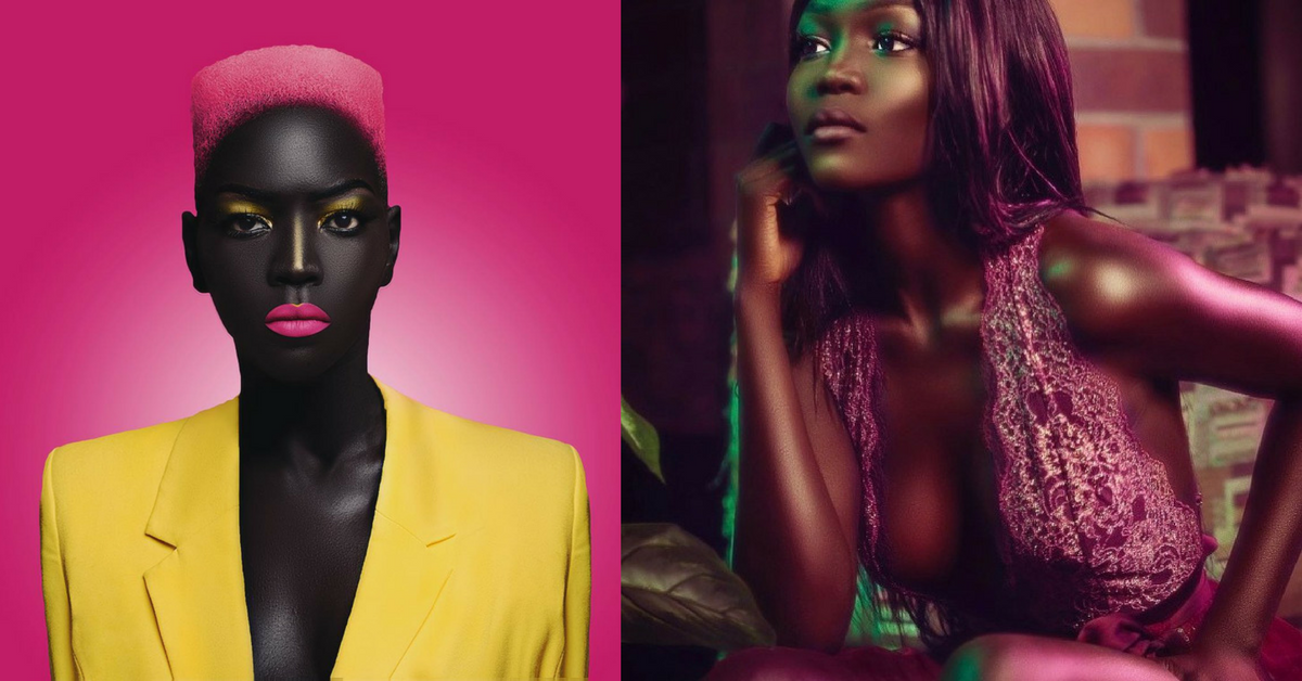 Queen of the Dark_ African Model Rejects Uber Driver's Advice to Bleach Her Elegantly Dark Skin