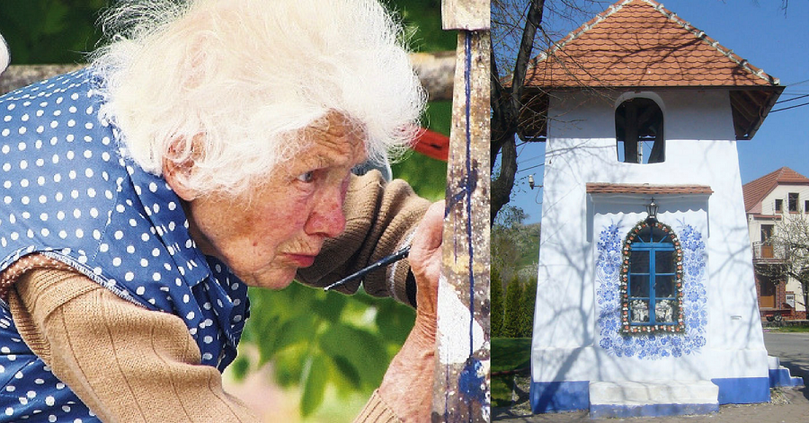 This This 90-Year-Old Street Artist Paints Better than Most of Us