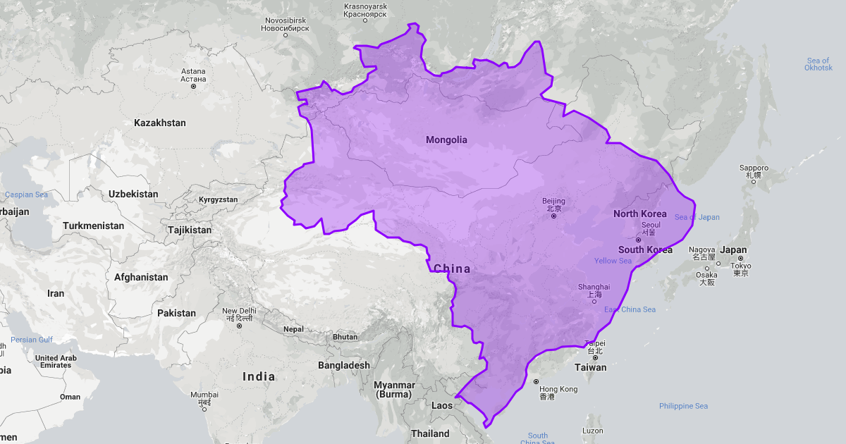 You Won't Believe The True Size Of These Countries