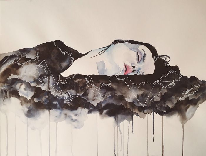 80 Artists Paint Depression To Show The Horrors of Their Own Mind