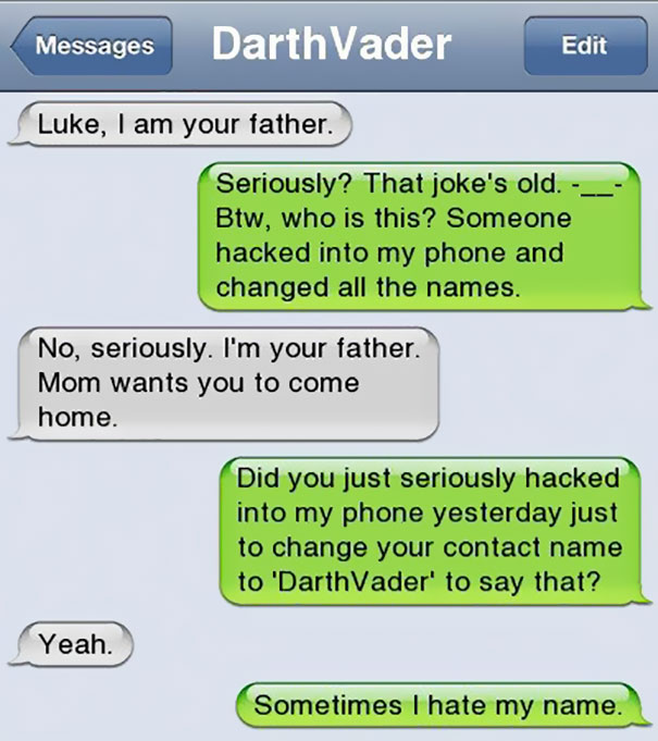 Awfully Funny: 35 of the Funniest Texts From Dads