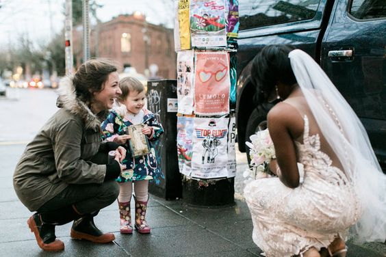 Girl Mistakes bride for princess in her book, and the moment will melt your heart