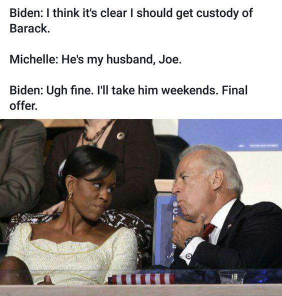 Barack Obama Joe Biden Tweets are Still Funnier than Donald Trump