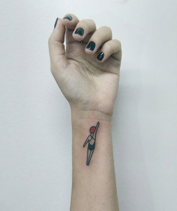 55 Cutest Minimalist Tattoo Designs to Change Your Idea About Getting Inked