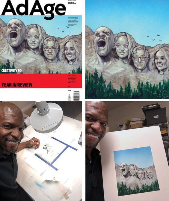 Terry Crews, the Myth, the Legend, and the Artist