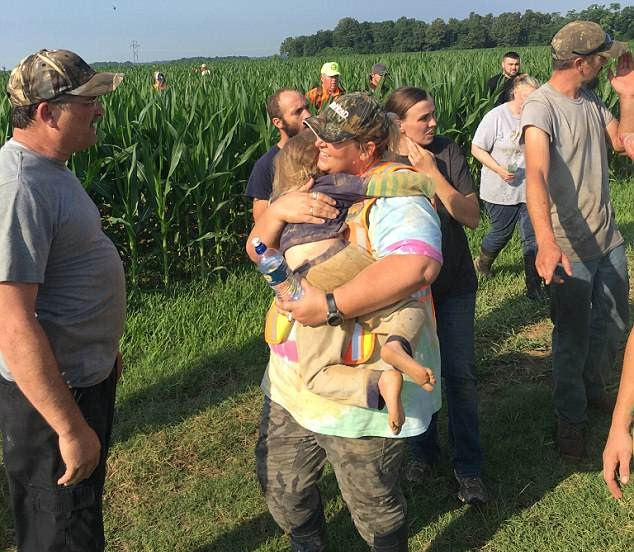 Missing 3-Year-Old Girl is Found Spending Night in the Cornfield With a Friend
