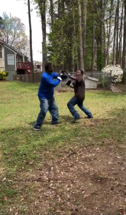 This Hilarious Backyard Boxing Match With 5.6M Views is Breaking the Internet!