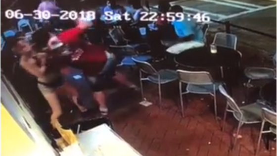 Customer Thought He Got Lucky After Slapping Waitress's Bum, But She Knew Exactly What to Do