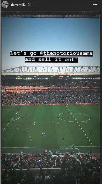 Darren Till Challenges Conor McGregor To Fight At Football Stadium