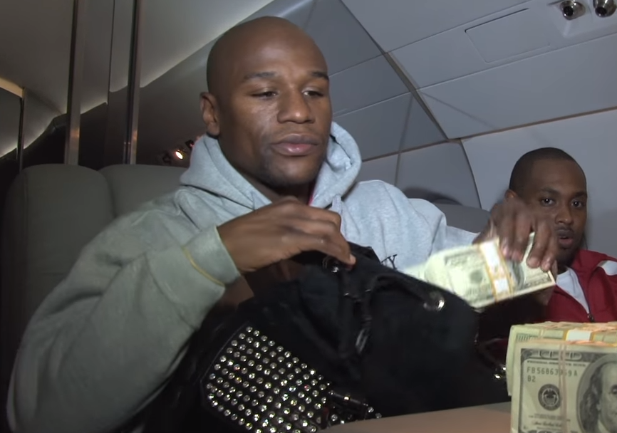 Here's How Floyd Mayweather Has Been Spending His McGregor Millions