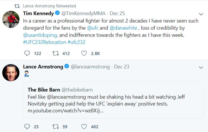 Lance Armstrong's Savage Reaction To Jon Jones Steroid Test Situation