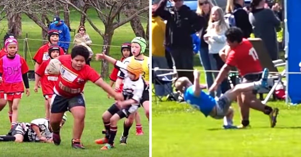 9-Year-Old Rugby Sensation Is An Ultimate BEAST