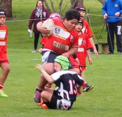 The 9-Year-Old Rugby UNIT Taking The Internet By Storm
