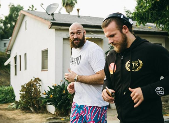 WATCH: Tyson Fury Trains For Potential Deontay Wilder Rematch