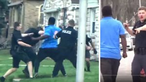 This Guy Goes Incredible Hulk and Beat 8 Police Officers