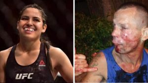 Man Tries To Rob UFC Fighter Polyana Viana & Gets Completely Hammered