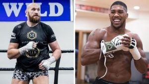 Tyson Fury Responds To Anthony Joshua's Fight Offer